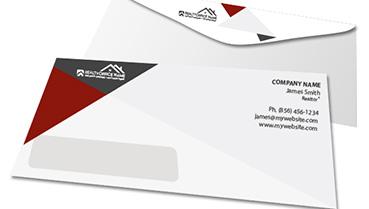 real estate envelopes ideas realty studio design