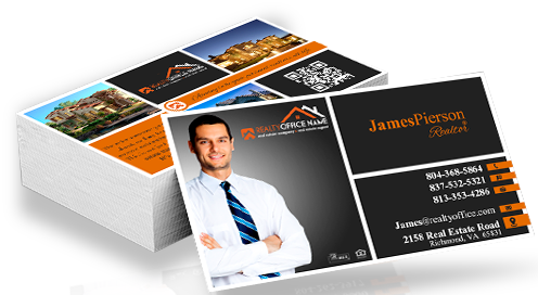 Real estate business cards design realty studio design real estate business cards design reheart Choice Image