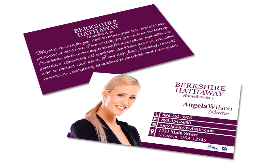 Berkshire hathaway business cards realty studio design berkshire hathaway business cards colourmoves