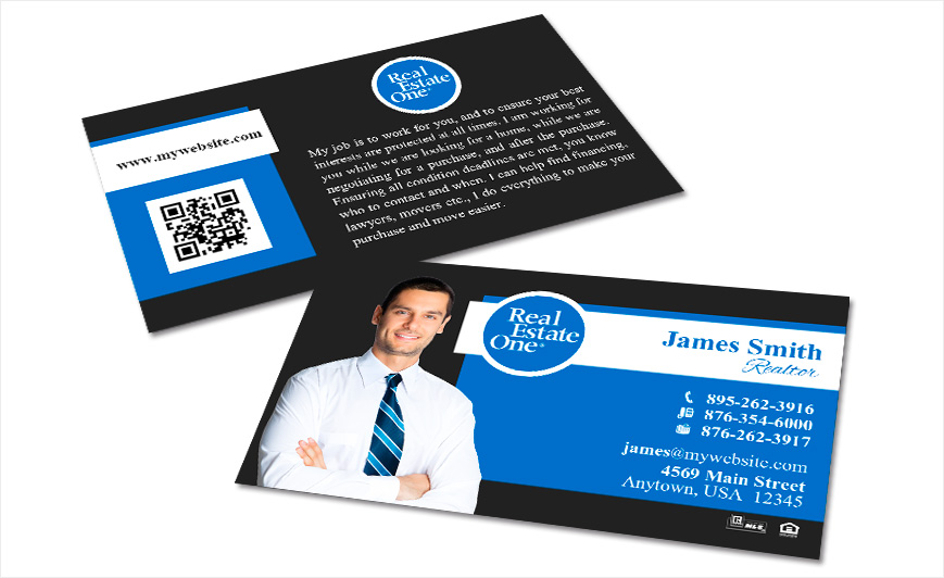 Real estate one business cards realty studio design real estate one business cards reheart Gallery