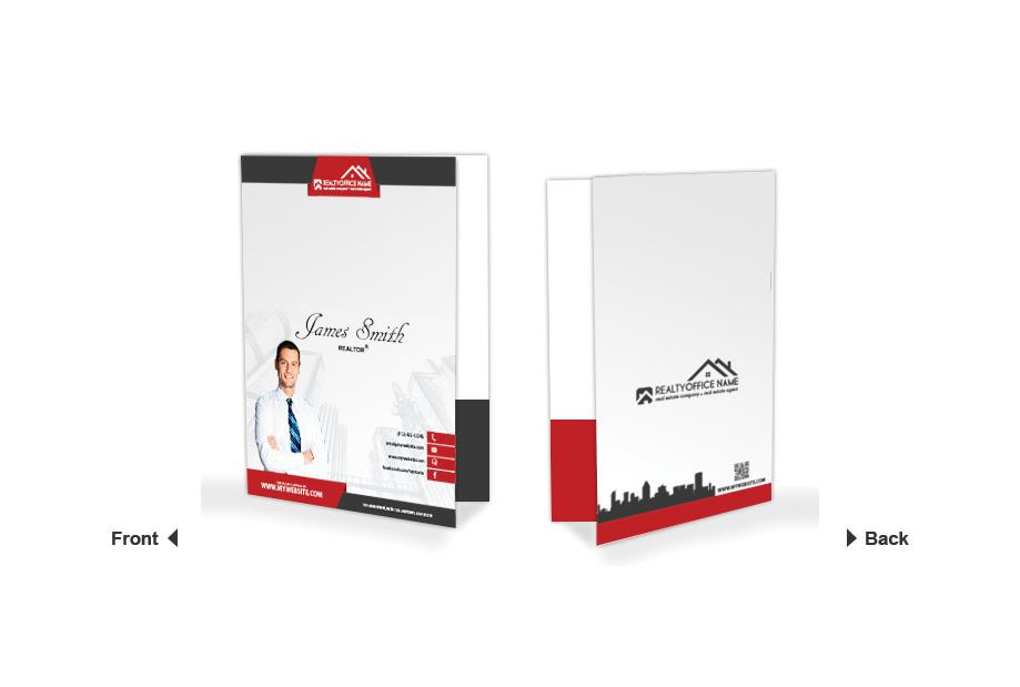 Real Estate Folder Template Realtor Folder Template Folder