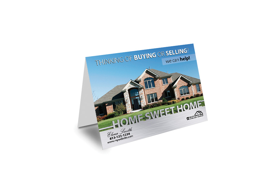 Realty greeting cards realty greeting card templates real estate greeting card rsd gc 102 m4hsunfo