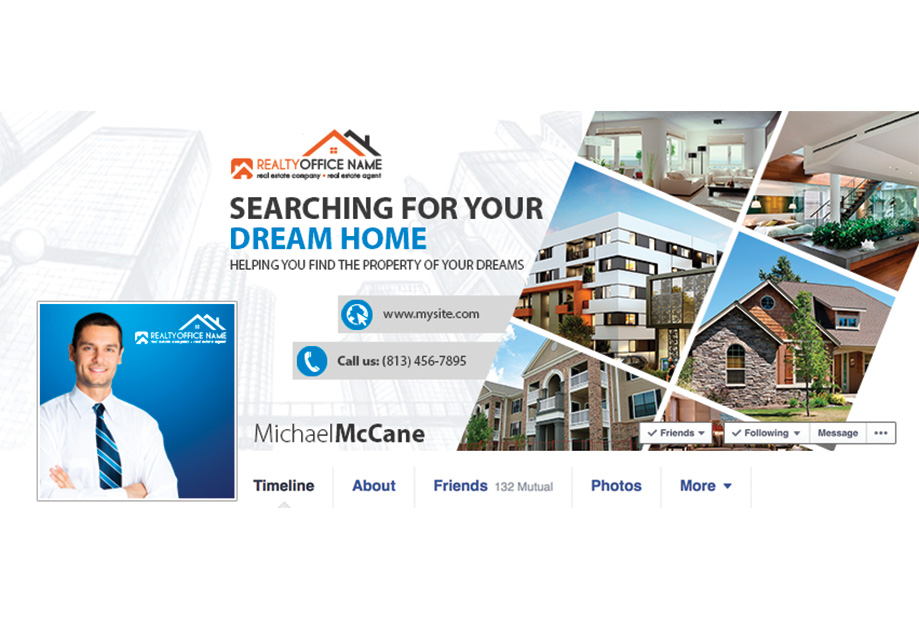 real estate facebook graphic template facebook graphic template