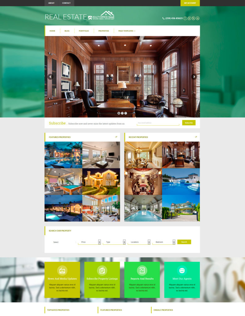 Real Estate Websites RSD WS 102