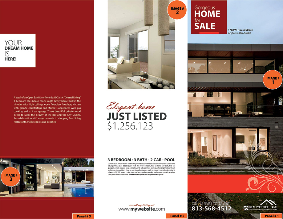 Real estate brochure ideas realtor brochure ideas for Real estate home ideas