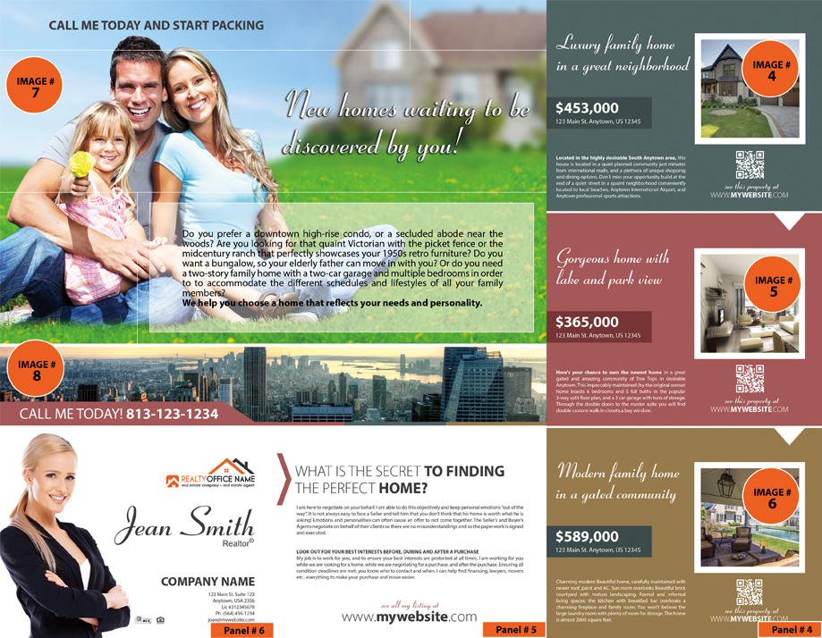 Real Estate Brochure Template Realtor Brochure Template - Realtor brochure template