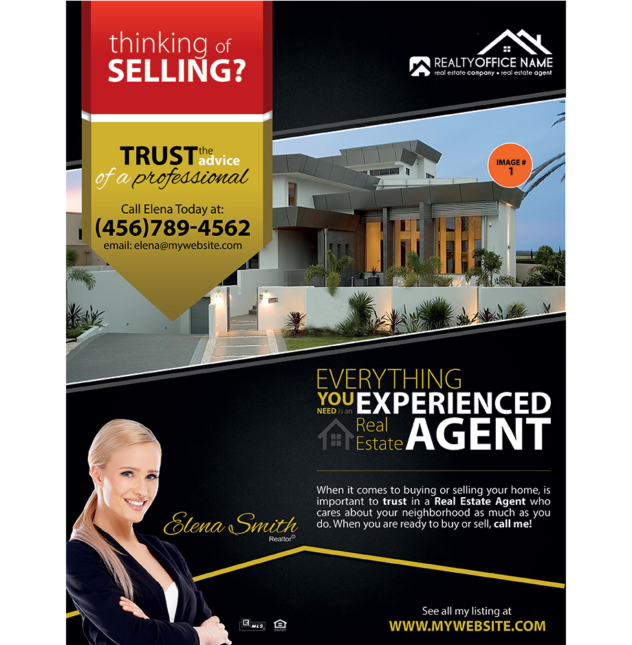 real estate flyer samples real estate agent flyer samples. Black Bedroom Furniture Sets. Home Design Ideas