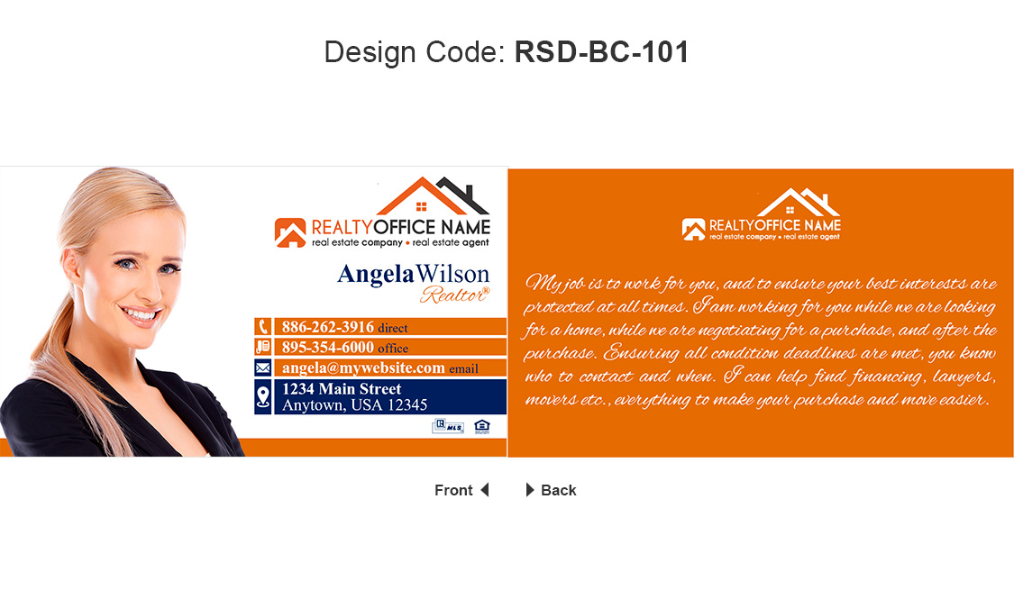 Real estate office team business cards realty team business cards team order business cards colourmoves