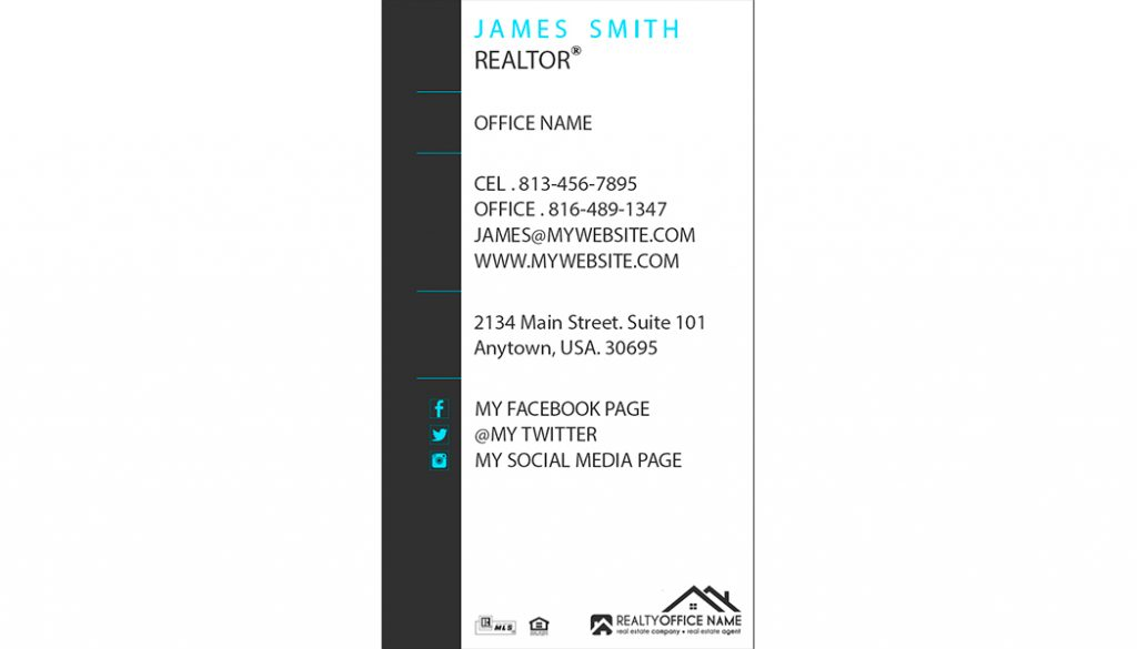Real Estate Business Card Printing | Realtor Business Card Printing