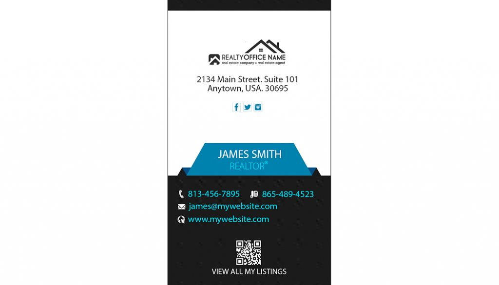 Real estate Business Card Ideas | Realtor Business Card Ideas