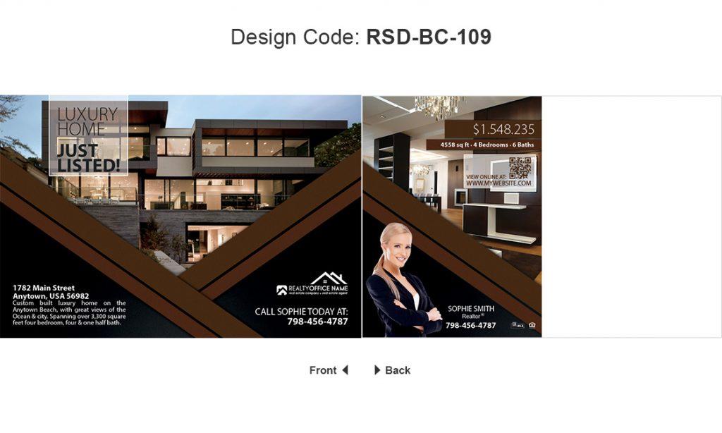 Real Estate Postcard Ideas