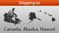 ○ Add Shipping to: Canada, Alaska, Hawaii