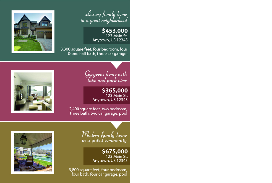 Real Estate Postcards | Realty Postcards