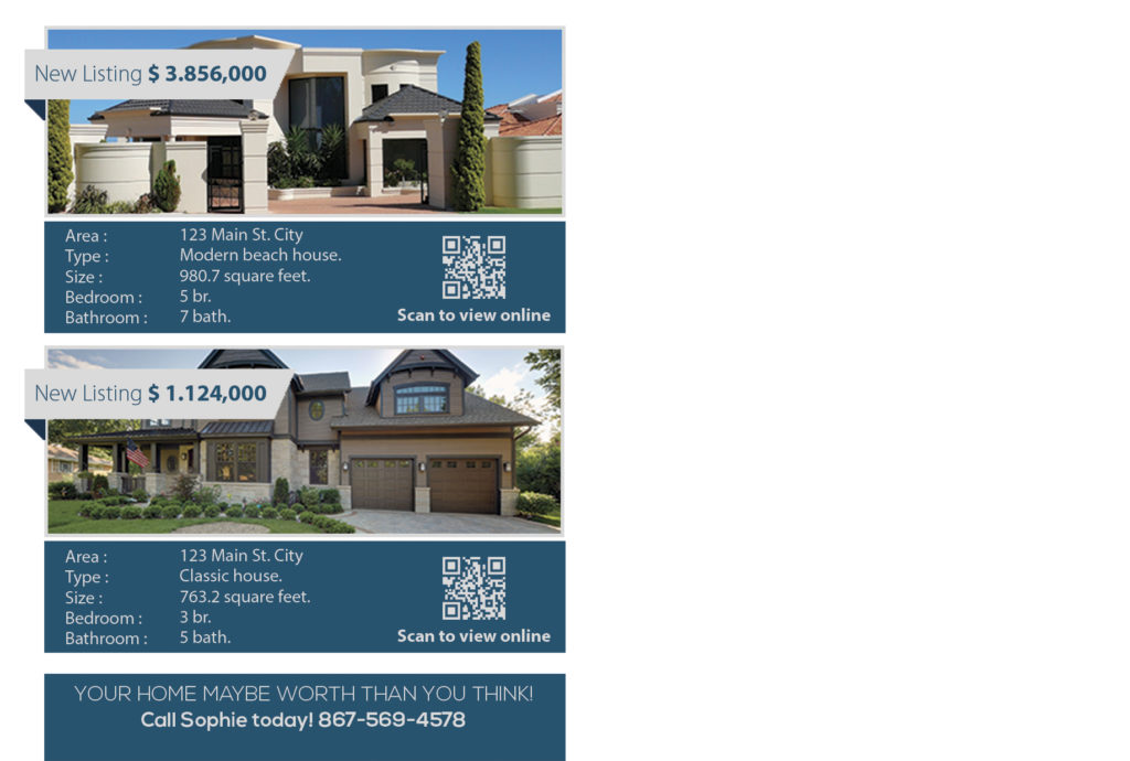 Real Estate Postcards, Realtor Postcards, Real Estate Agent Postcards, Real Estate Office Postcards, Broker Postcards, Postcard Ideas