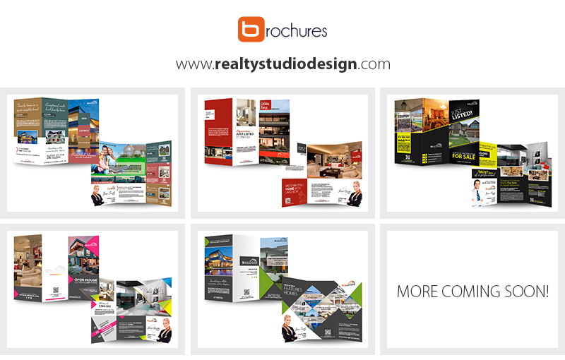 Real Estate Brochure Templates | Real Estate Agent Brochure Templates