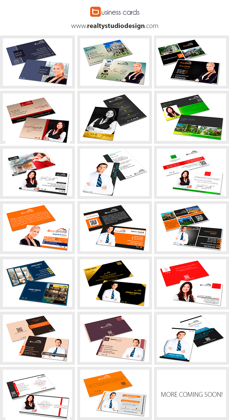 Real estate business cards online realtor business cards online real estate business cards reheart Gallery