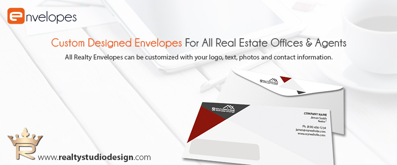 Real Estate Envelopes, Real Estate Envelope Templates, Real Estate Agent Envelope Templates, Real Estate Office Envelope Templates, Realtor Envelope Templates, Real Estate Broker Envelope Templates