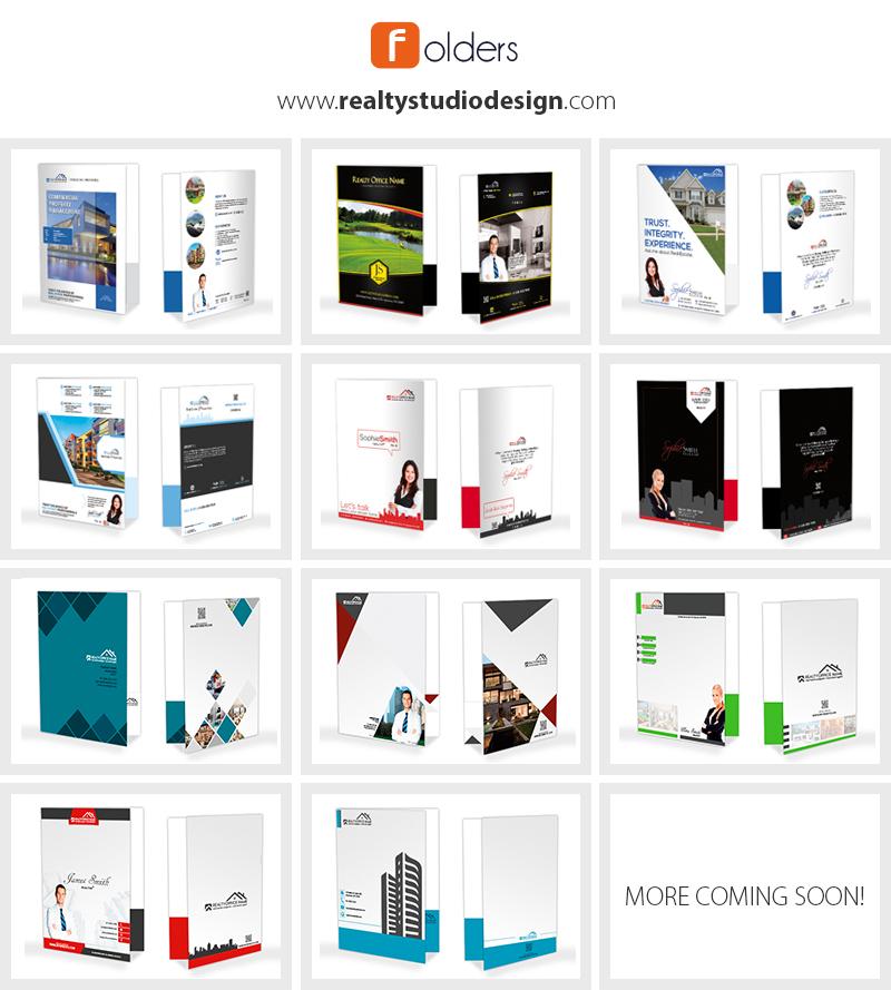 Real Estate Folders, Real Estate Presentation