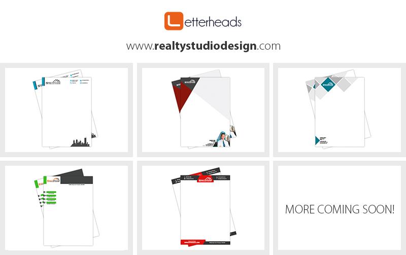 Real estate letterhead templates realtor letterhead templates news letterheads designs spiritdancerdesigns Images
