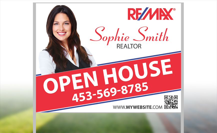 Remax Yard Signs – House for Sale Sign Template