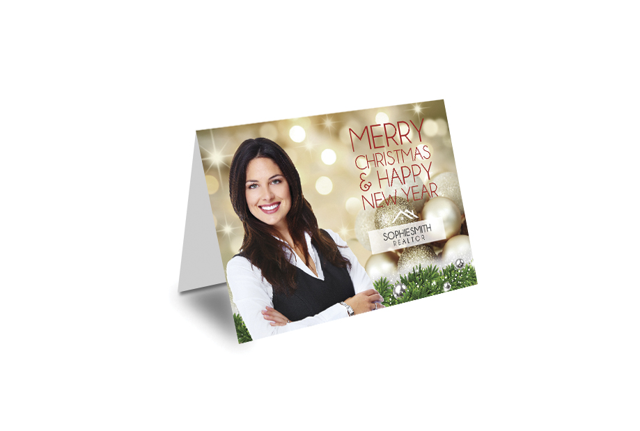 Real Estate Holiday Card | Real Estate Christmas Card 01