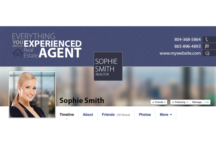 Real Estate Facebook Graphic Template Real Estate