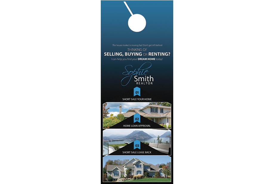 Real Estate Door Hanger Template real estate door hanger | real estate door hanger template