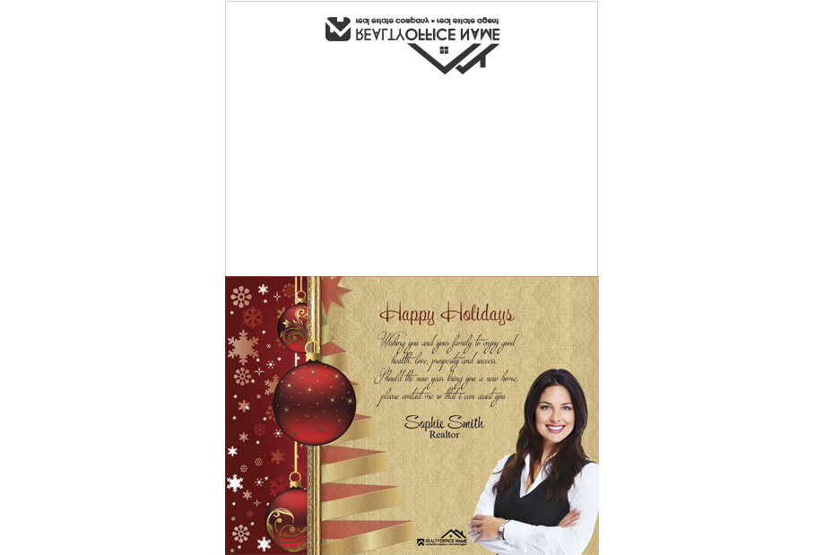 Real Estate Christmas Cards, Real Estate Holiday Cards