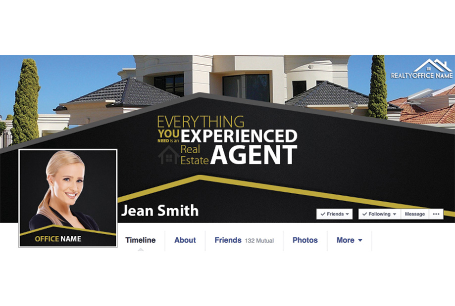 Real Estate Facebook Graphic Template Real Estate Facebook Cover