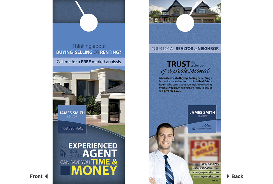 Real Estate Door Hanger Real Estate Door Hanger Template - Real estate door hanger templates