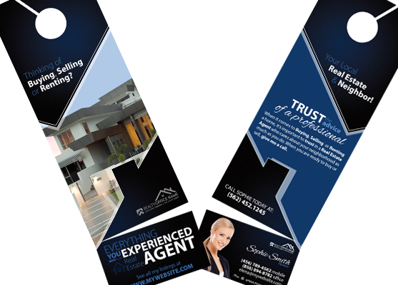 Real estate door hanger rip cards door hangers business card slits real estate door hanger rip cards real estate rip door hangers door hangers business reheart