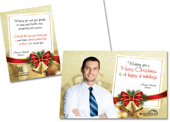 Real Estate Holiday Postcards | Realtor Holiday Postcards, Holiday Postcards for Real Estate Agents, Real Estate Agent Holiday Postcards, Holiday Postcards