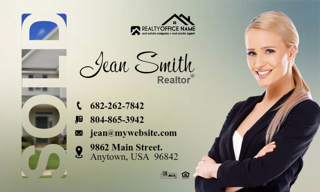 Real Estate Magnetic Cards