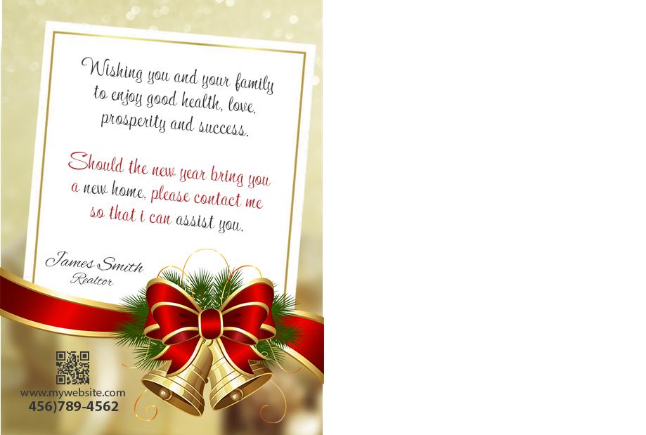 Real Estate Holiday Postcard 02 | Real Estate Christmas Postcard-02
