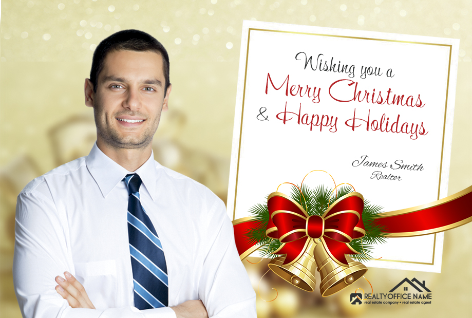 Real Estate Holiday Postcards   Realtor Holiday Postcards, Holiday Postcards for Real Estate Agents, Real Estate Agent Holiday Postcards, Holiday Postcards, Real Estate Christmas Postcards