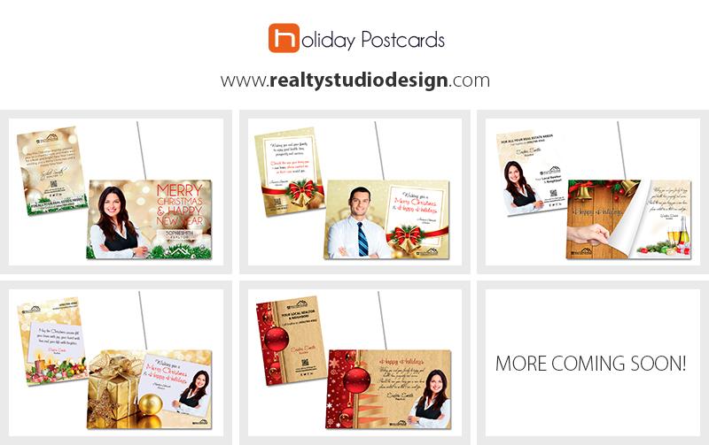 News-Holiday Postcards designs