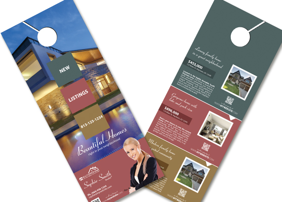 Marvelous Real Estate Door Hangers | Real Estate Agent Door Hangers, Real Estate  Office Door Hangers