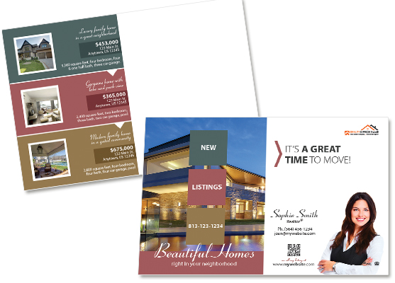 Property Management Postcards | Residential Management Postcards, Property Management Marketing Postcards, Property Management Postcard Ideas