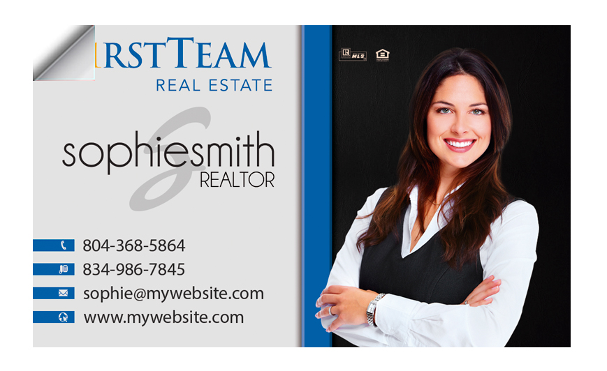 First team real estate business cards first team business card shop all first team real estate products colourmoves