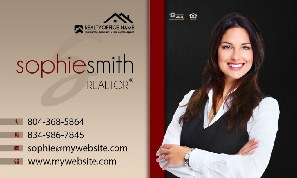 Real Estate Business Card Stickers