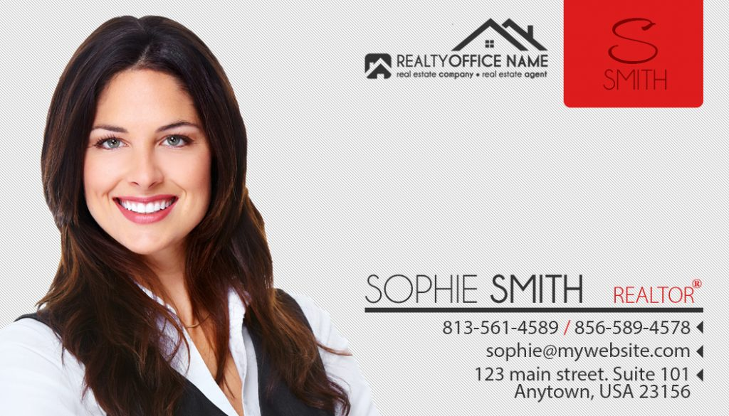 Real Estate Business Card Stickers, Realtor Business Card Stickers, Real Estate Agent Stickers