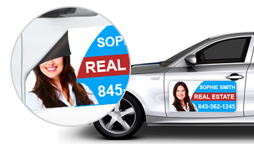 Real Estate Car Magnets Real Estate Magnetic Car Signs - Custom car magnets
