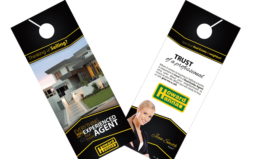 Howard Hanna Door Hangers | Howard Hanna Door Hanger Templates, Howard Hanna Door Hanger designs, Howard Hanna Door Hanger Printing, Howard Hanna Door Hanger Ideas