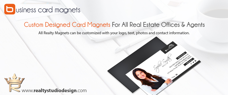 Real Estate Business Card Magnet Templates