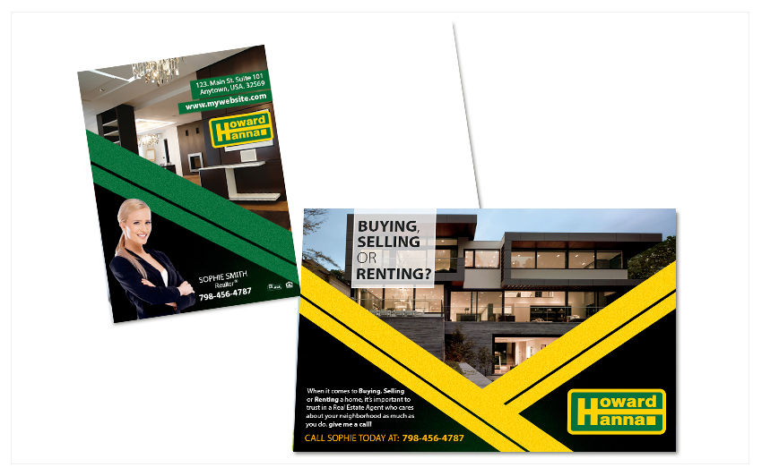Howard Hanna Postcards | Howard Hanna Postcard Templates, Howard Hanna Postcard designs, Howard Hanna Postcard Printing, Howard Hanna Postcard Ideas