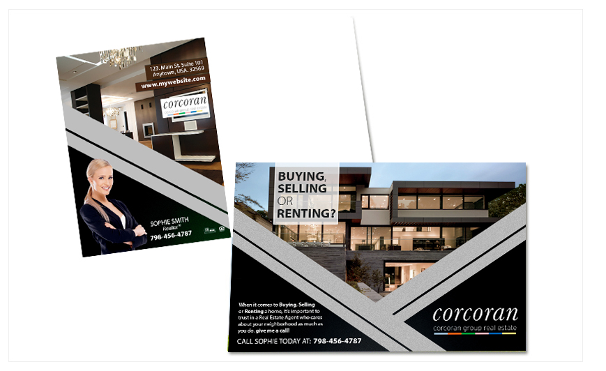 corcoran real estate postcards corcoran real estate postcard templates corcoran real estate postcard designs - Postcard Design Ideas