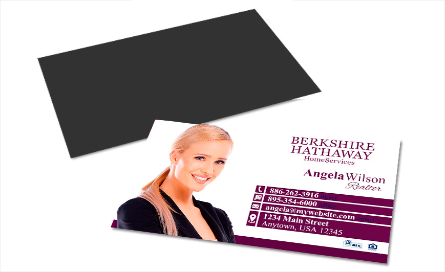 Berkshire Hathaway Business Card Magnets Berkshire Magnetic Cards