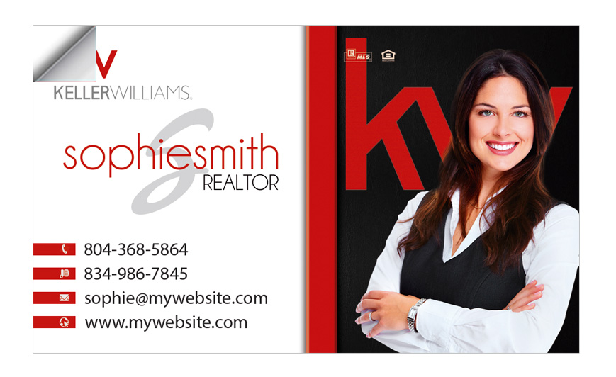 Custom keller williams business card stickers keller williams business card sticker templates keller williams business card sticker designs