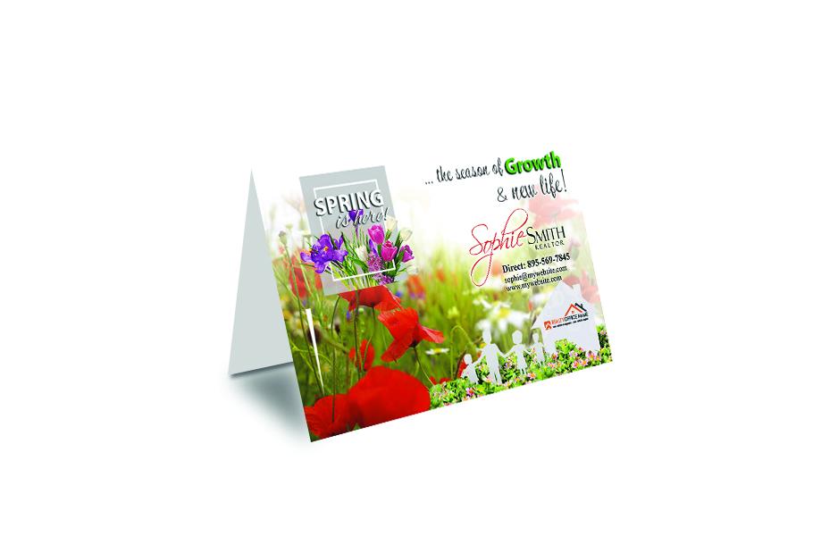 Real Estate Spring Season Cards, Real Estate Seasonal Cards, Real Estate Spring Cards, Spring Cards