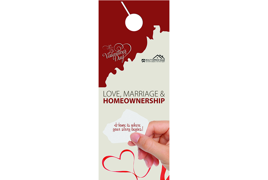 Real Estate Door Hangers, Real Estate Valentines Day Door Hangers, Valentines Day Door Hangers, Real Estate Valentines Door Hangers, Realtor Valentines Door Hangers
